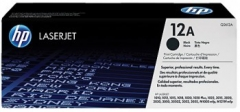 Toneris HP 12A TONER BLACK 2000P