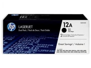 Toneris HP black dual pack | 2x2000psl | LaserJet1010/1012/1015/1020
