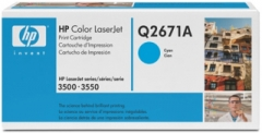 Toneris HP cyan | 4000psl | CLJ 3500/3550 Toners and cartridges
