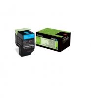 Toneris Lexmark 802C cyan | return | 1000 pgs| CX310dn / CX310n / CX410de / CX41