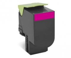 Toneris Lexmark 802HM magenta | return | 3000 pgs | CX410de / CX410dte / CX410e