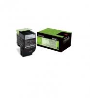 Toneris Lexmark 802K black | return | 1000 pgs| CX310dn / CX310n / CX410de / CX4