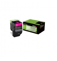 Toneris Lexmark 802M magenta | return | 1000 pgs| CX310dn / CX310n / CX410de / C