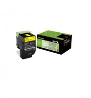 Toneris Lexmark 802Y yellow   return   1000 pgs   CX310dn / CX310n / CX410de / C
