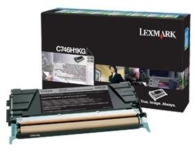 Toneris Lexmark black | return | 12000pgs | C746/C748