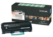 Toneris Lexmark black | return | 15000pgs | X463/X464/X466