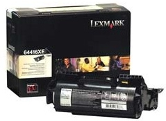 Toneris Lexmark black | return | 32000pgs | T644