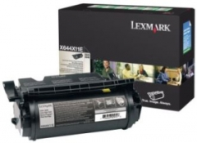 Toneris Lexmark black | return | 32000pgs | X64Xe