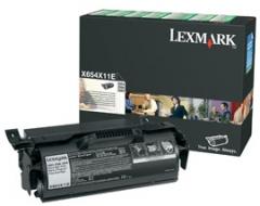 Toneris Lexmark black | return | 36000pgs | X654/6/8