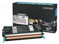 Toneris Lexmark black | return | 8000pgs | C524