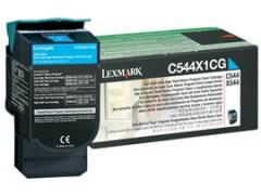 Toneris Lexmark cyan | 4000pgs | C544dn/C544dtn/C544dw/C544n/X544dn/X544dtn/X54.