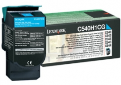 Toneris Lexmark cyan | return | 2000pgs | C54x