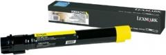 Toneris Lexmark yellow   22000pgs   X950/X952/ X954
