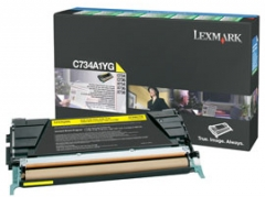 Toneris Lexmark yellow | return | 6000pgs | C734/C736/X734/X736/X738