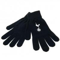 Tottenham Hotspur F.C. žieminės pirštinės (Juodos) Sirgalių atributika