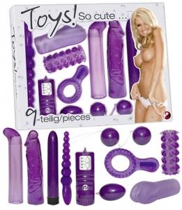 Toys So cute Set vibro toys Kitokio stiliaus vibratoriai