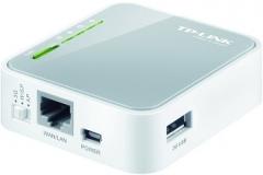 TP-Link TL-MR3020 Wireless N150 3G/3.75 UMTS/HSPA/EVDO router 1xLAN/WAN,1xUSB PL