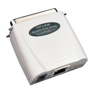TP-Link TL-PS110P spausdinimo serveris 1xLPT, 1xRJ-45 Printeru piederumi