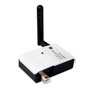 TP-Link TL-WPS510U bevielis spausdinimo serveris 1xUSB, WiFi 802.11b/g Printeru piederumi