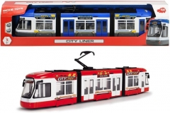 Tramvajus Dickie Toys 203749017 City Liner Tram with Free-Wheel Doors 46 cm