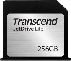 Transcend Flash Expansion Card 256GB JetDrive Lite 130 Macbook Air 13 95/60MB/