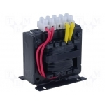 Transformatorius 400VA, 230/24V, 16,6A, skirtas elektroninių prietaisų maitinimo sistemoms, Breve TMM 400/A230/24V/16,6A Strāvas mērīšanas transformatori