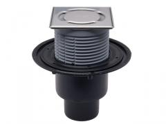 Trapas HL310NPr-3000 su sausu sifonu Primus ir nerūdijančio plieno porėmiu