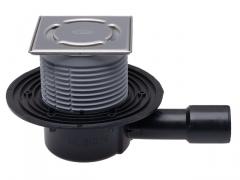 Trapas HL510N-3000 su nerūdijančio plieno porėmiu