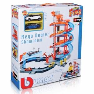 Trasa 30031 Bburago Mega Dealer Showroom Automobilių lenktynių trasos vaikams