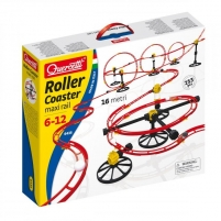 Trasa 6435 Quercetti Roller Coaster Maxi Rail Car racing tracks for kids