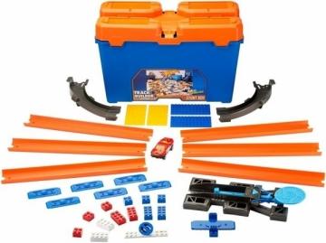 Trasa DWW95 Hot Wheels Track Builder Stunt Box MATTEL Automobilių lenktynių trasos vaikams