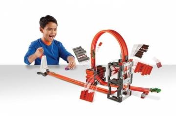 Trasa DWW96 Hot Wheels Track Builder Construction Crash Kit MATTEL