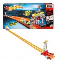 Trasa Mattel Hot Wheels Ultimate Drag Strip CBY76 Automobilių lenktynių trasos vaikams