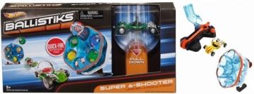 Trasa Mattel Hot Wheels X7146 / X7144 Ballistiks Super 6-Shooter Automobilių lenktynių trasos vaikams