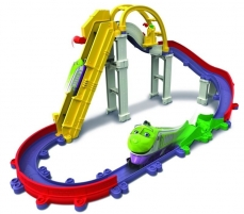 Trasa TOMY Chuggington Working Wheels Service Yard Set, LC54240