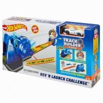 Trąsos rinkinys FLL02 Hot Wheels Track Builder Rev N Launch Challenge Car racing tracks for kids