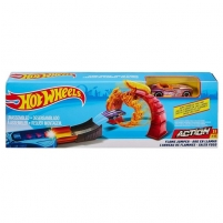 Trąsos rinkinys FTH81 / FTH79 Hot Wheels Flame Jumper Playset