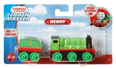 Traukinukas GDJ55/GCK54 Fisher-Price Thomas & Friends Adventures, Large Push Along Henry Geležinkelis vaikams