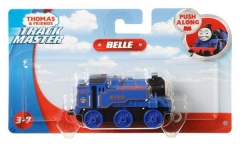 Traukinukas GDJ56/GCK94 Fisher-Price Thomas & Friends Adventures, Large Push Along Belle Geležinkelis vaikams