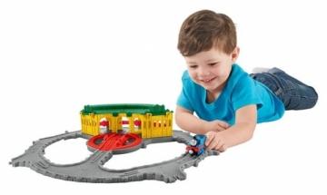 Traukinukas Thomas & Friends DGK96 Take-n-Play Tidmouth Sheds Adventure Hub Die Cast Model Geležinkelis vaikams