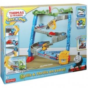 Traukinys Fisher Price BCX21 THOMAS & FRIENDS Railway children