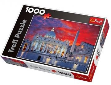 Dėlionė TREFL 10172 Puzzle Švento Petro Bazilika, Roma, 1000 elementų
