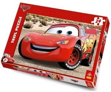 Trefl 14082 Puzzle Lightning McQueen 24 MAXI det. Jigsaw for kids
