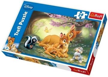 Dėlionė Trefl 14096 Puzzle Disney Bembi 24 MAXI det. Dėlionės vaikams