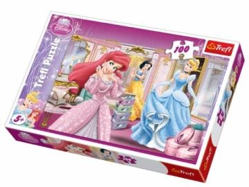 Dėlionė TREFL 16186 Puzzle Princesės 100 detalės Dėlionės vaikams