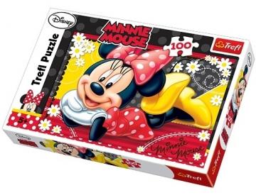 TREFL 16193 Puzzle Minnie Mouse 100 det.