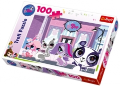 Trefl 16198 Puzzle Littlest PetShop 100 det. Jigsaw for kids