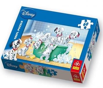 TREFL 17154 Puzzle Delmantinia 60 det. Atjautības kids
