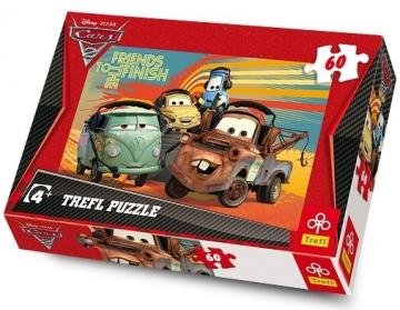 TREFL 17190 Puzzle CARS 2 60 det. Atjautības kids