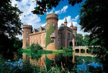 Dėlionė TREFL 26074 Puzzle Moyland pilis Šiaurės Rhine Vokietijoje 1500 det.